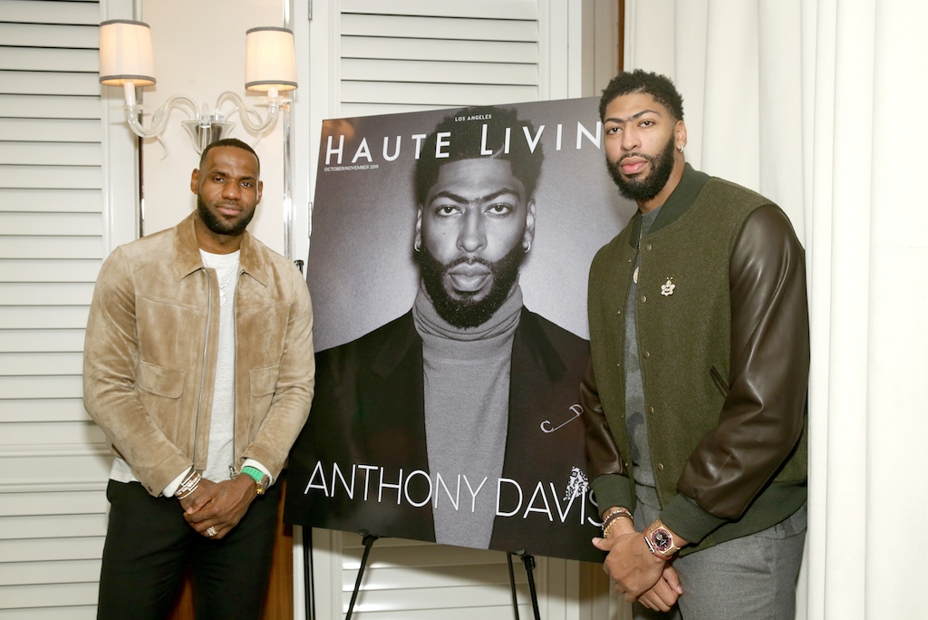LeBron James x Anthony Davis x Mr. C