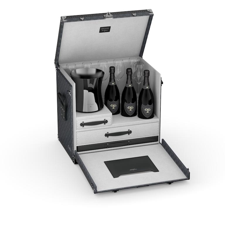 Louis Vuitton x Dom Perignon champagne case