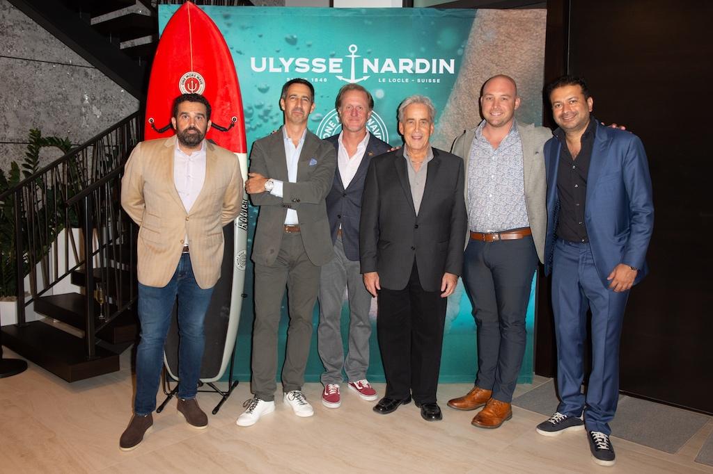 Seth Semilof, Francois-Xavier Hotier, Rob Garnett, Commissioner Steven Glassman, Kyle Buckett, Kamal Hotchandani