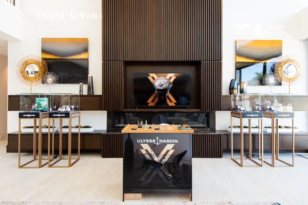 Ulysse Nardin FLIBS lounge