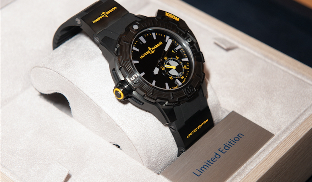 Ulysse Nardin x One More Wave Deep Diver watch, #1 of 1