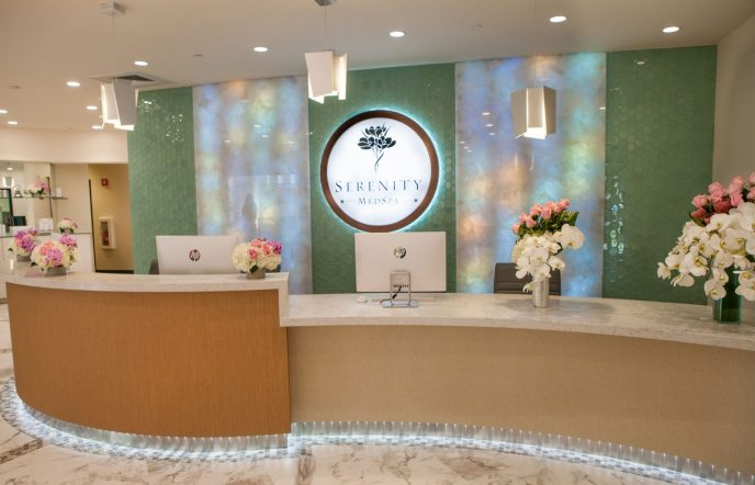 Serenity Med Spa, Designed by Sophisticate Interiors