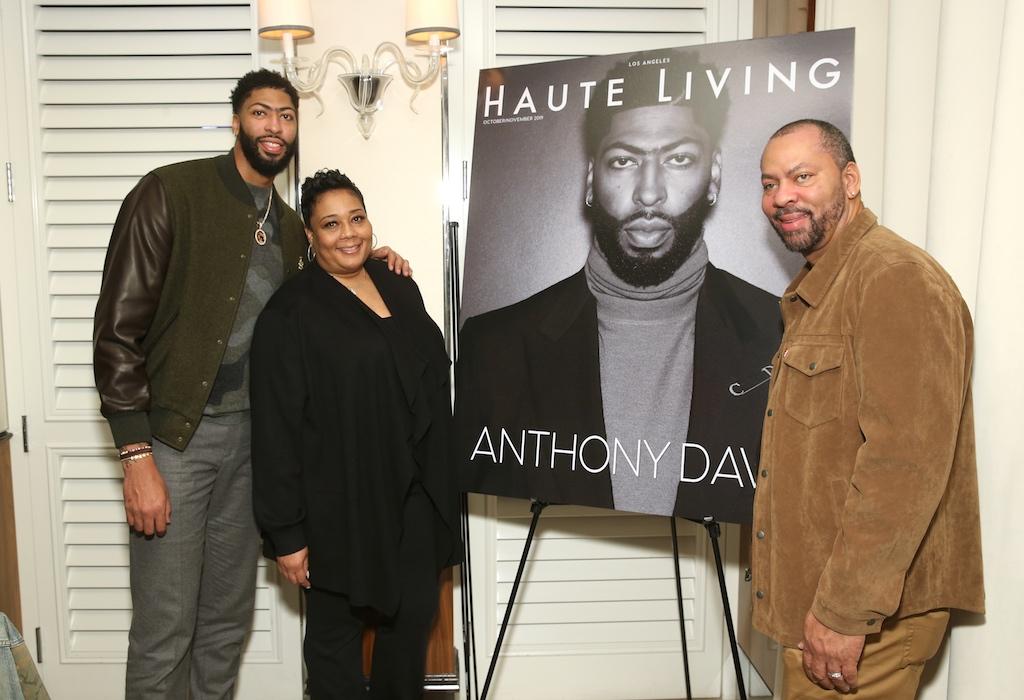Anthony Davis and parents