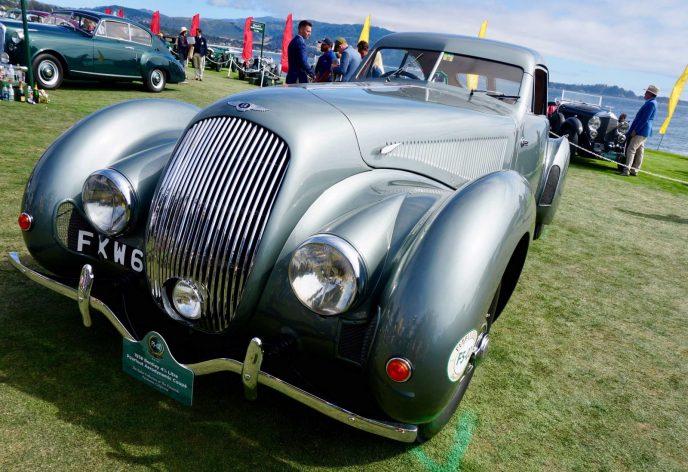 Arturo Keller's 1938 Bentley 4 1/4 Litre Pourtout Aerodynamic Coupe