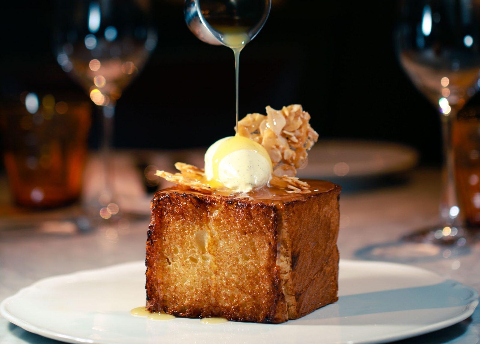 Bardot Brasserie French Toast at Aria Las Vegas
