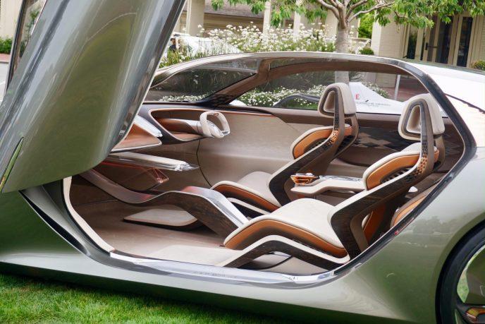Bentley concept electric car interior revealed