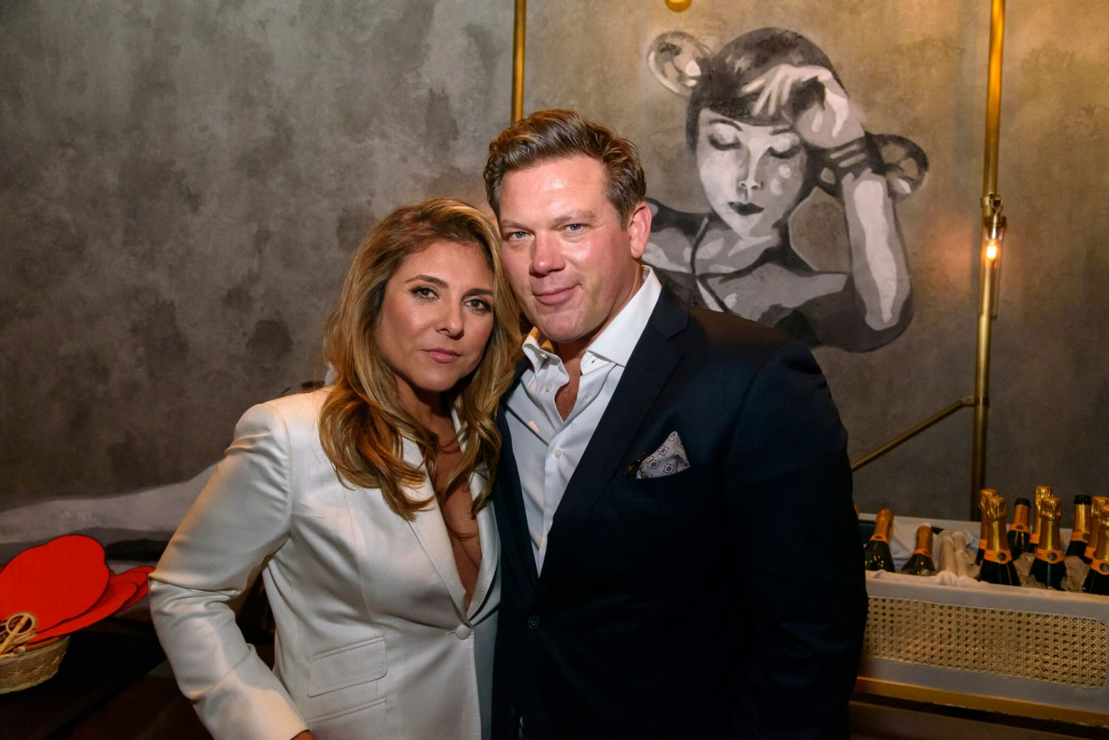 Celebrity Chefs Tyler Florence and Lorena Garcia Mott 32 The Venetian Resort Las Vegas