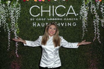 Chef Garcia at Chica Miami Opening Party