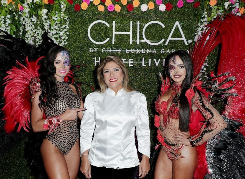 Chef Lorena Garcia at Chica Miami Launch