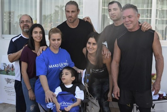 Child from Make-A-Wish with Anatomy Owners
