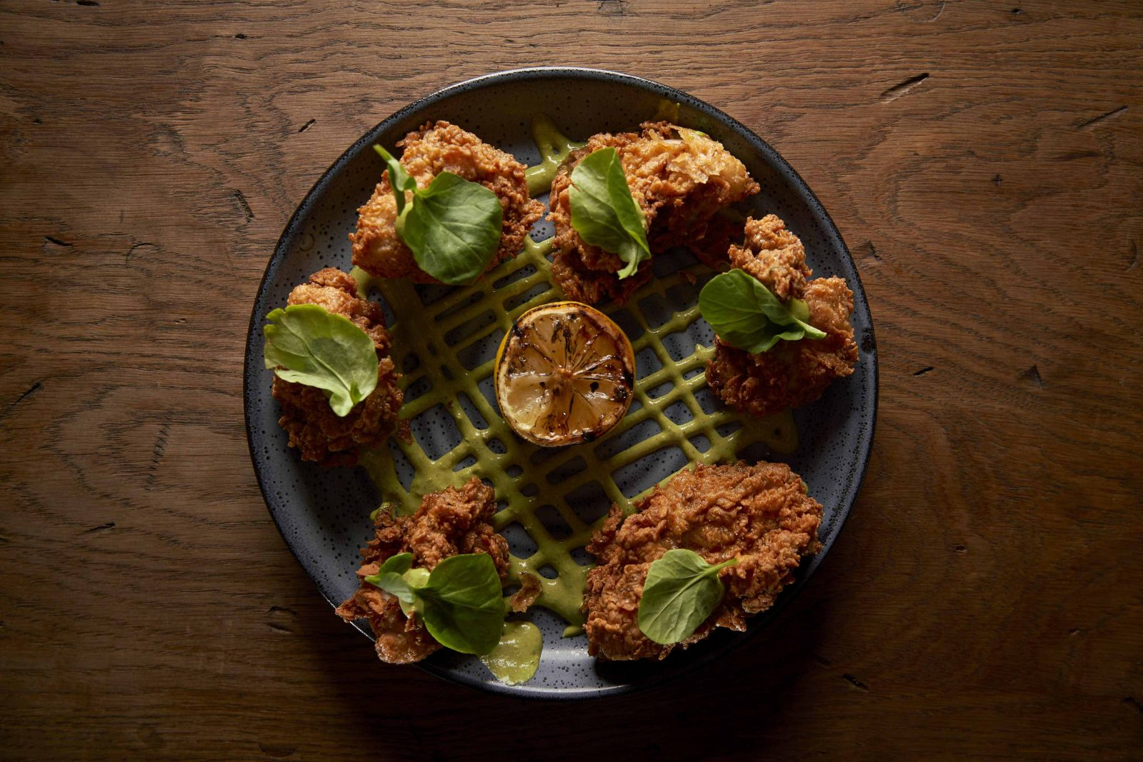 Crispy Fried Oysters