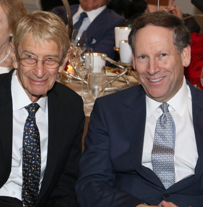 Eddie Trump (left)