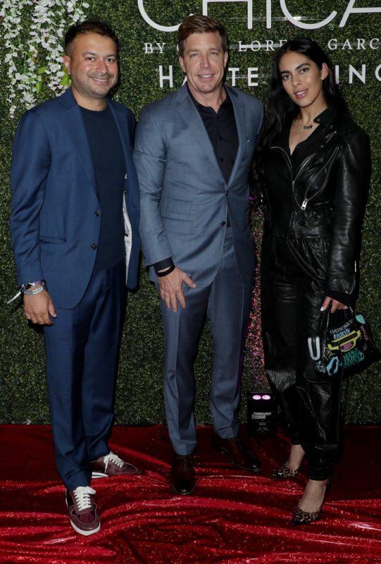 Kamal Hotchandani, John Kunkel and Carmen Aida
