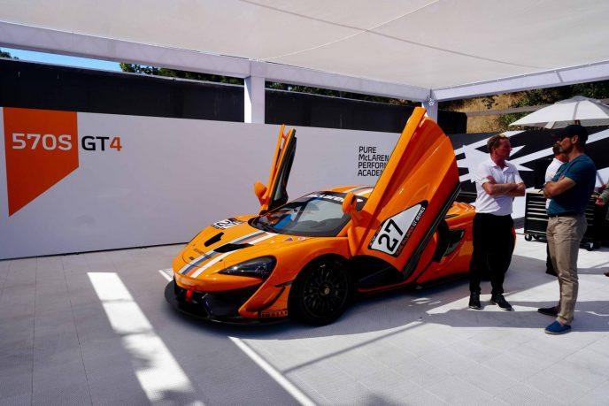 McLaren 570 GT 4 at McLaren event at Bernardus Carmel Valley