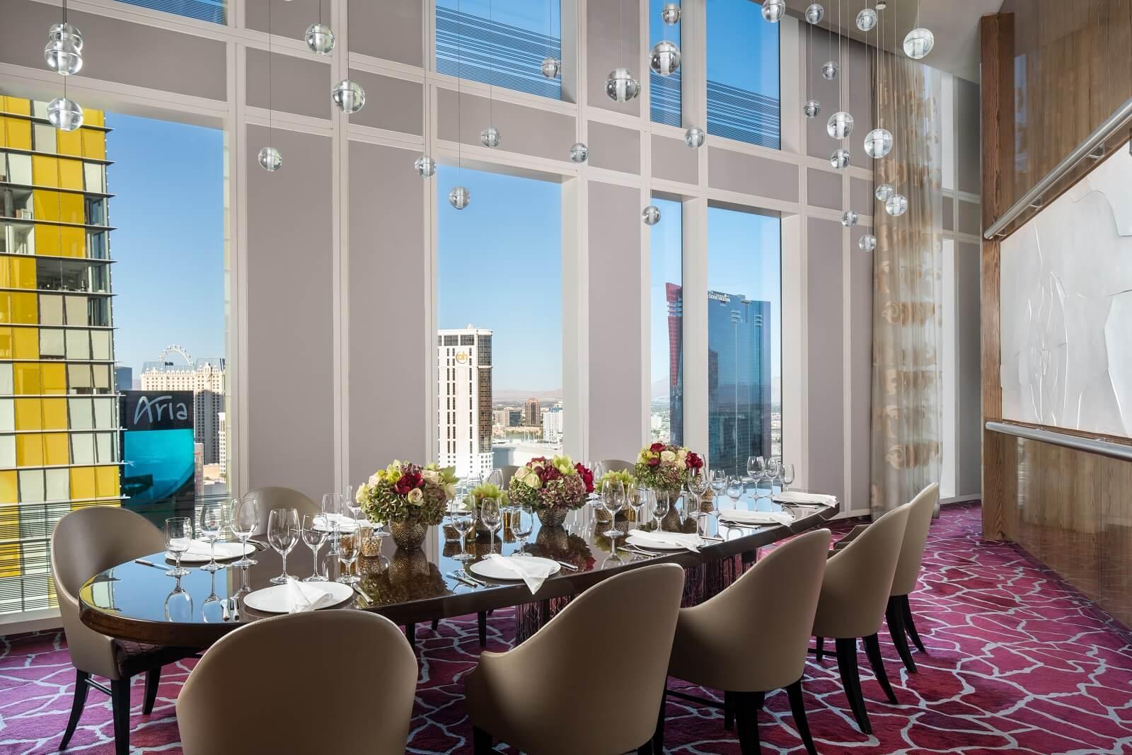 Twist by Pierre Gagnaire Waldorf Astoria Las Vegas