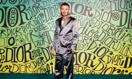 David Beckham DIOR MEN FALL 2020: RUNWAY SHOW