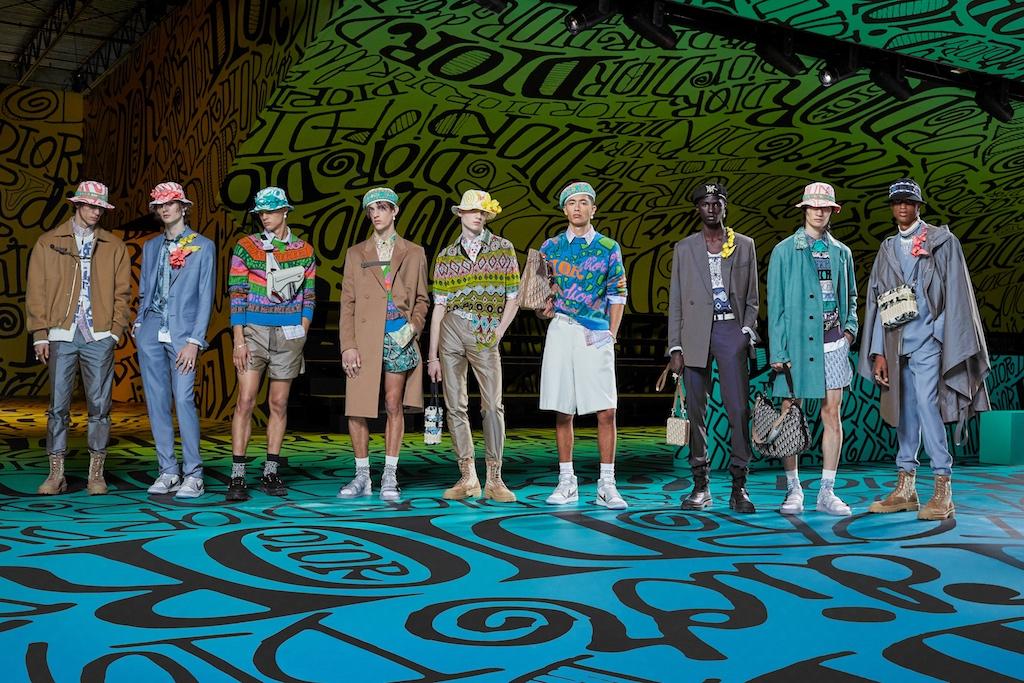 Dior Men Fall 2020 Miami fashion show kim jones