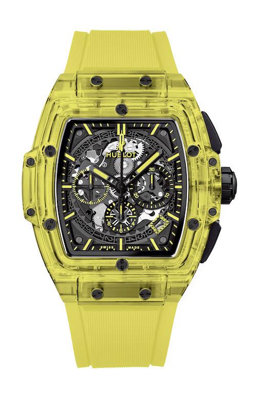Hublot spirit of big bang yellow sapphire