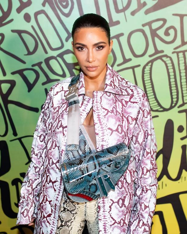 Kim Kardashian DIOR MEN FALL 2020: RUNWAY SHOW