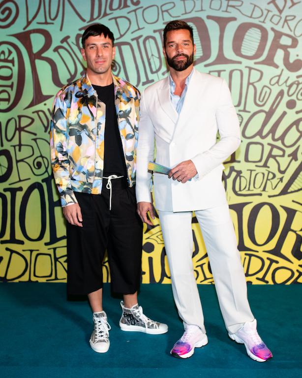 Jwan Yosef, Ricky Martin DIOR MEN FALL 2020: RUNWAY SHOW