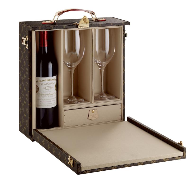 louis vuitton wine case 1 bottle
