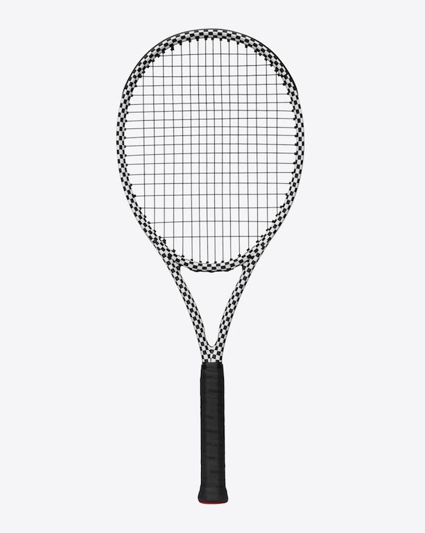 saint laurent x wilson tennis racket