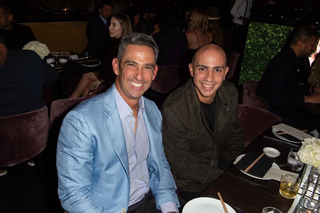 Jorge Posada & Carlos Arroyo