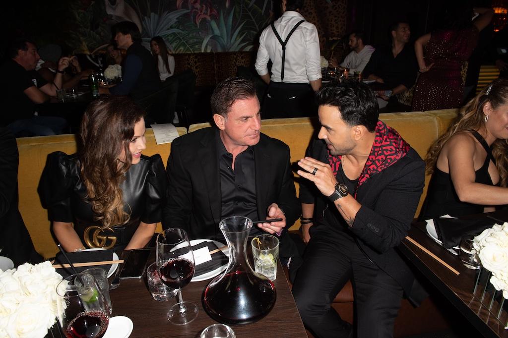 Bru & Dan Kodsi with Luis Fonsi
