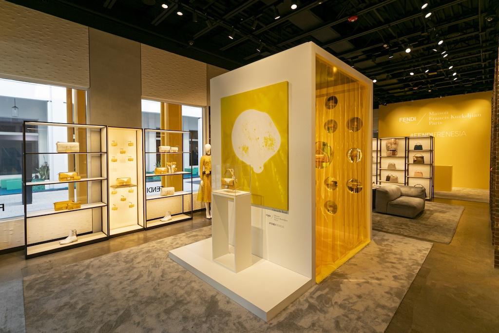 FENDI Miami Design District boutique fragrance room
