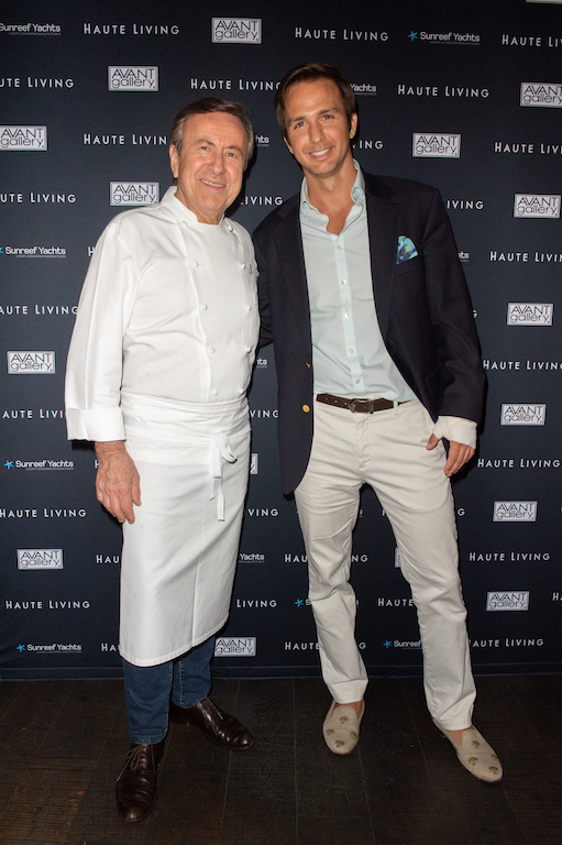 Chef Boulud and Robert Riva