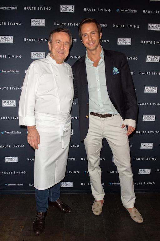 Chef Boulud and Robert Riva