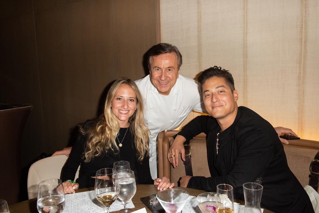 Paige Mastrandrea, Chef Boulud, Michael Pulchino