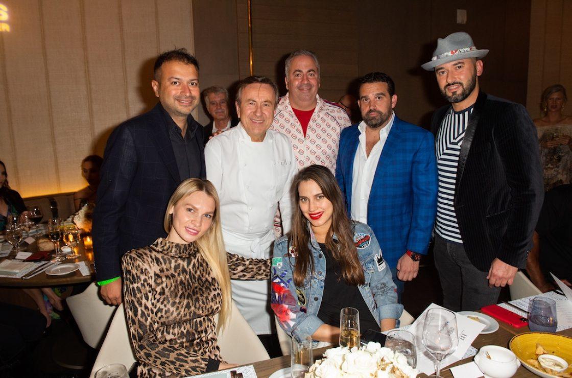 Kamal Hotchandani, Alona Goldman, Chef Boulud, Jennifer Certain, Joey Goldman, Seth Semilof, Dmitry Prut