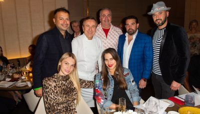 Kamal Hotchandani, Alona Goldman, Chef Boulud, Jennifer Certain, Joey Goldman, Seth Semilof, Dmitry Prut