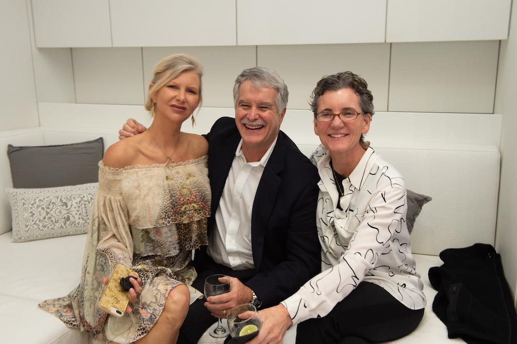 April Donelson, CEO Doctors Studio Pete Martinez and Dr. Lisbeth Roy