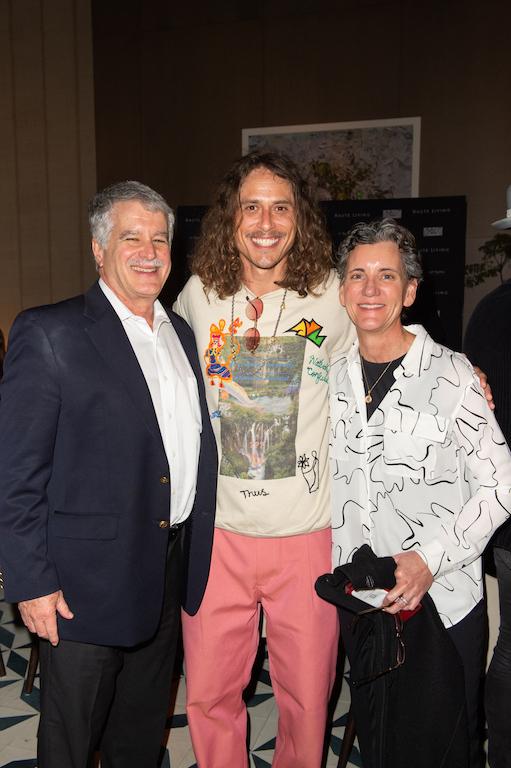Pete Martinez, Spencer Mar Guilburt, Dr. Lisbeth Roy