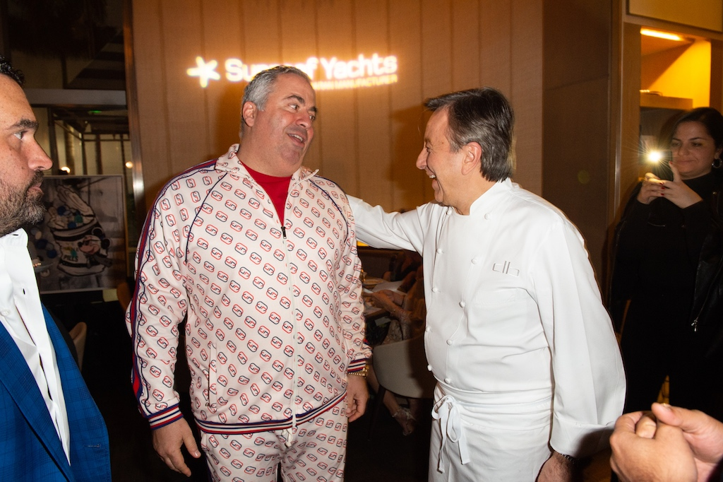 Joey Goldman AKA Gold Man and Chef Boulud