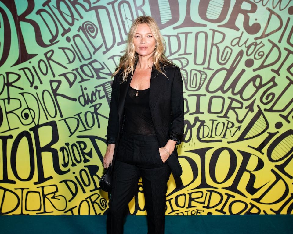 Kate Moss DIOR MEN FALL 2020: RUNWAY SHOW