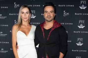 Agueda Lopez & Luis Fonsi