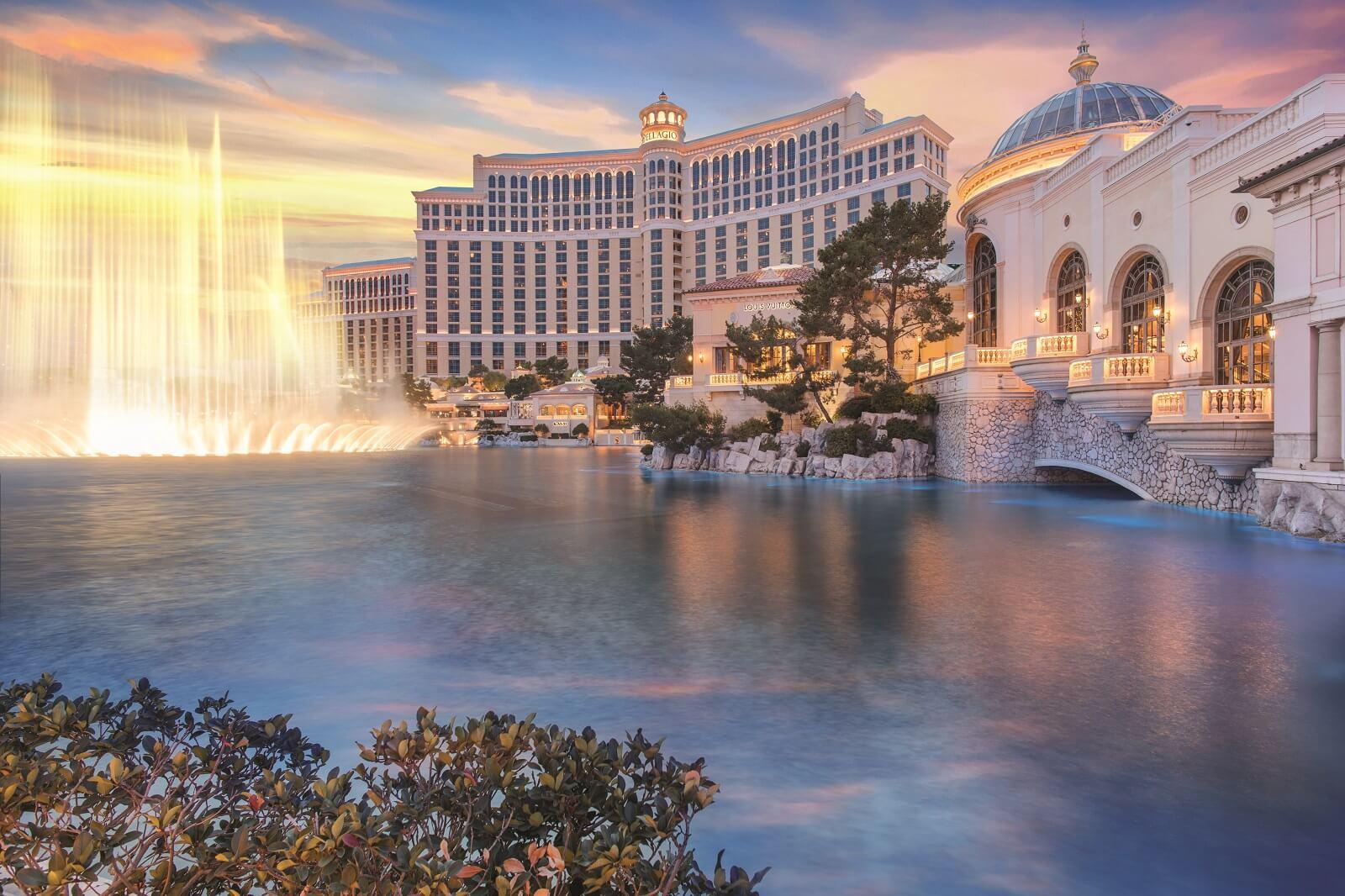 Bellagio Las Vegas Exterior Fountains of Bellagio