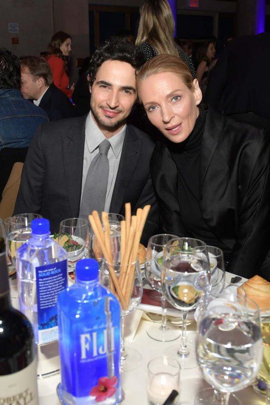 Zac Posen & Uma Thurman