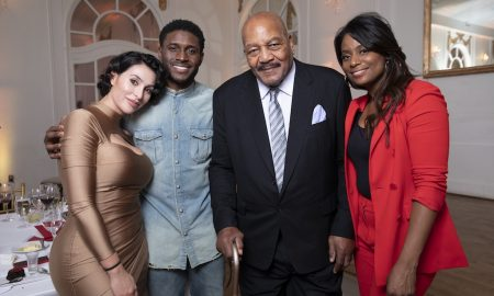 Lilit Bush, Reggie Bush, Jim Brown, Monique Brown