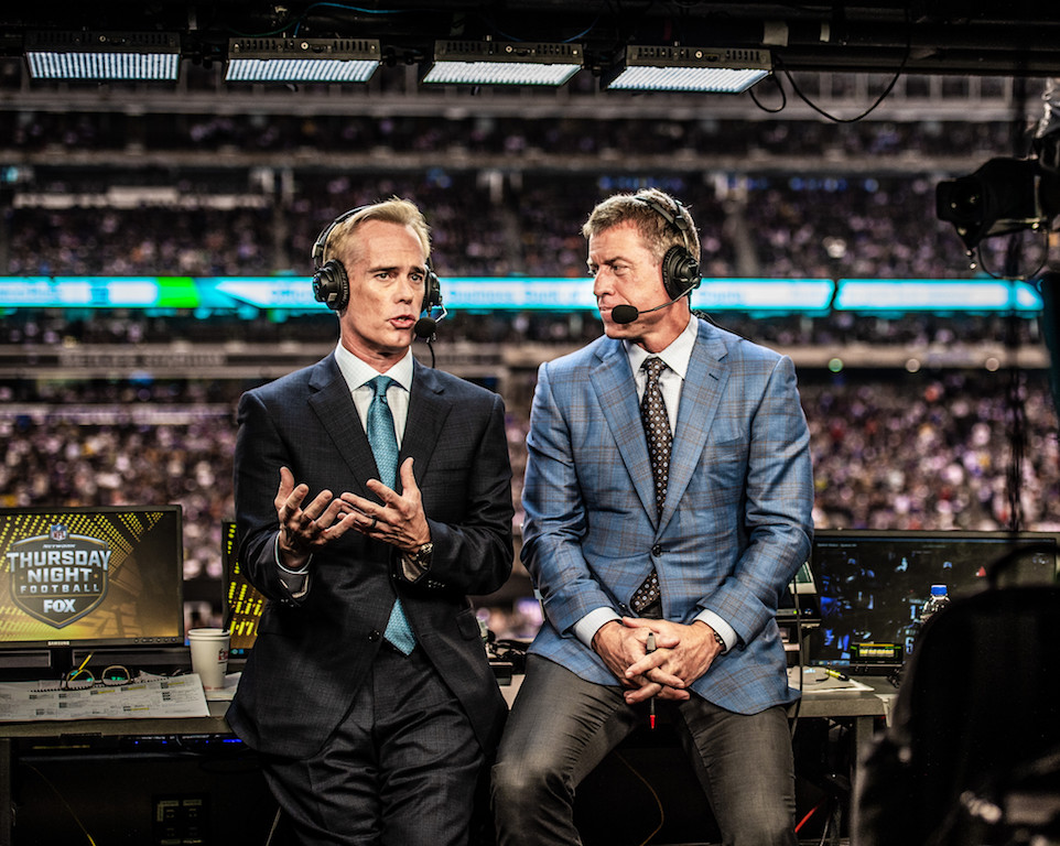 fox sports joe buck troy aikman
