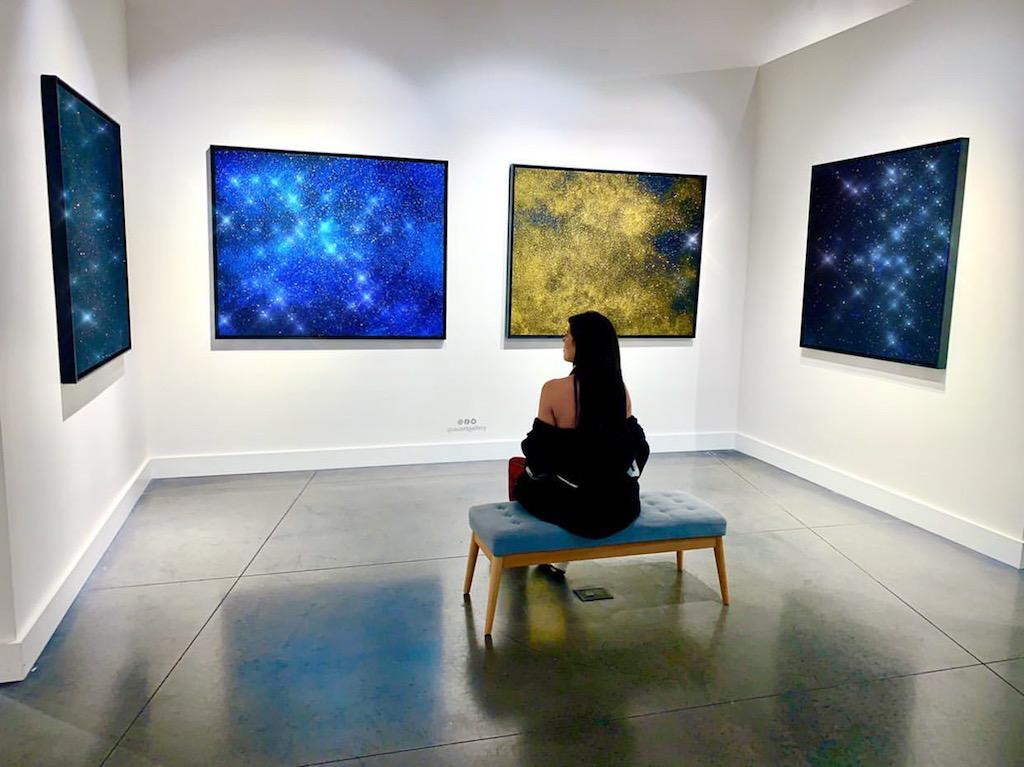avant gallery gold man