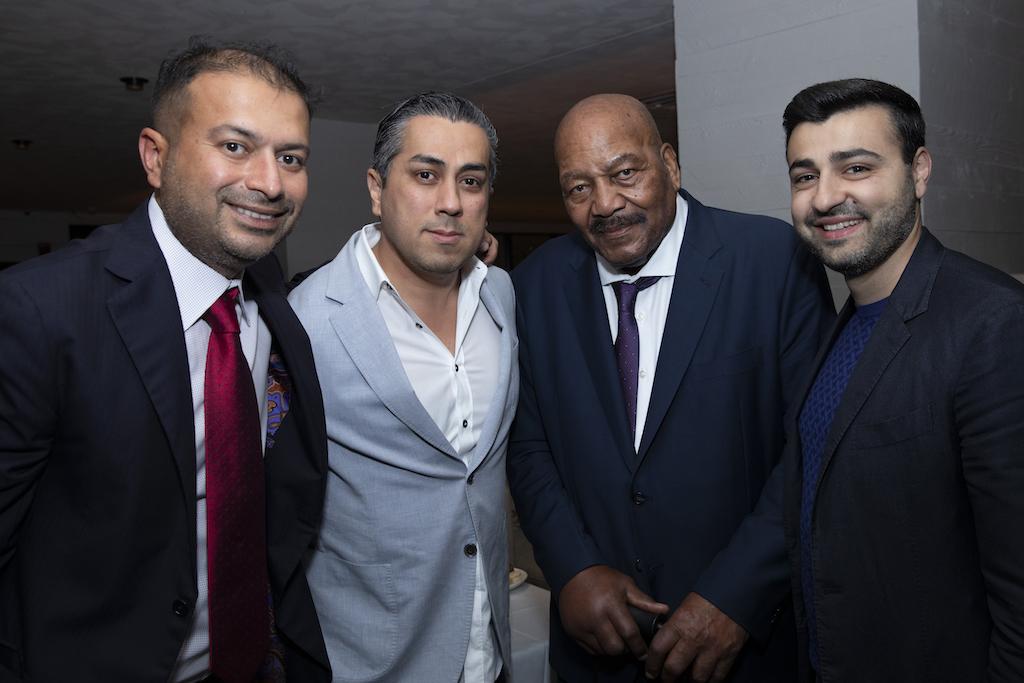 Kamal Hotchandani, Guest, Ray Lewis & Sergey Petrossov