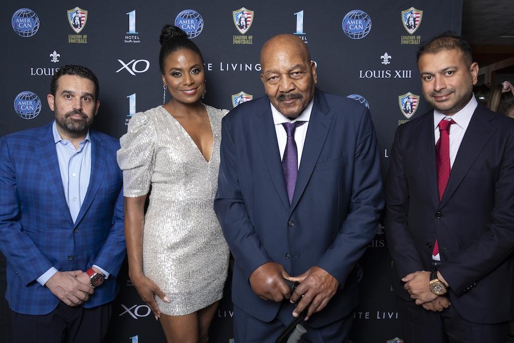 Seth Semilof, Monique Brown, Jim Brown & Kamal Hotchandani
