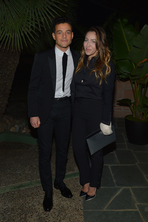 Rami Malek and Jasmine Malek Saint Laurent Pre-Golden Globes Party Hosted By Anthony Vaccarello And Rami Malek