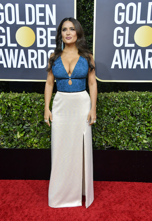 Salma Hayek 77th Annual Golden Globe Awards - Arrivals