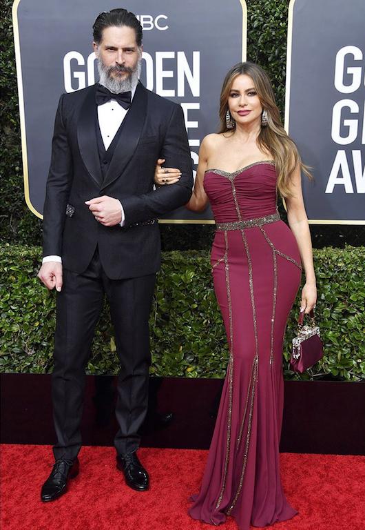 Joe Manganiello & Sofia Vergara golden globes 2020
