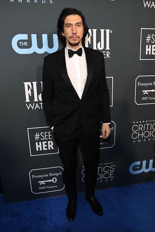 adam driver 25th Annual Critics' Choice Awards - Red Carpet